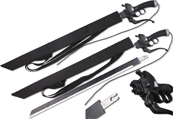 Attack on Titan Sword Shingeki no Kyojin With Detachable Blade