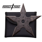 Stainless Steel 5-Point Shuriken Anime Ninja Throwing Star - 4