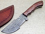 Damascus Steel Handmade Hunting Tracker Knife 10