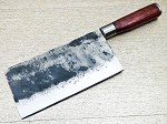 Handmade Forged Carbon Steel Kitchen Chef Cleaver Knife 13