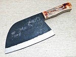 Handmade Forged Carbon Steel Kitchen Chef Cleaver Knife 12