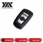 DZS Key Fob Stun Gun With Personal Alarm And LED Flashlight