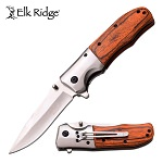 Rancher Pakkawood Spring Assisted Knife