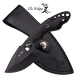 Hunting Fixed Blade Knife Black 3.5