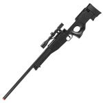 L96 AWP Bolt Action Spring Powered Airsoft Sniper Rifle With Scope