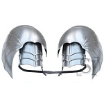 Combat Winged Gothic Pauldrons Shoulder Armor Set