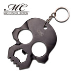 Self Defense 3.5MM Thick Knuckle Punch Bottle Opener Key Ring