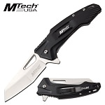 Spring Assist Folding Knife MTech Tactical Wharncliffe 3.5