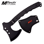 MTech Tactical Black Throwing Double Head Tomahawk Hatchet Axe