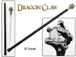 Dragon's Grasping Claw Walking Cane Sword with Acrylic Ball