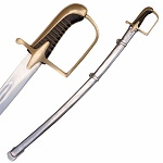 French Napoleonic era English Artillery Officer's Saber Sword
