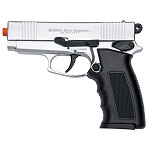 Sava Magnum Blank Front Firing Pistol Chrome Finish