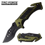 Tac Force Two Tone Tactical Spring Assisted Pocket Knife