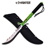 Saw Back Zombie Hunter Machete Sword