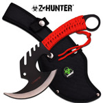 Full Tang Zombie Killer Skullsplitter Tactical Throwing Axe Hatchet
