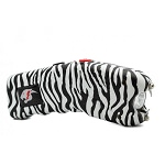 Zebra Print Cyclone Rechargeable Stun Gun With LED Light and Alarm