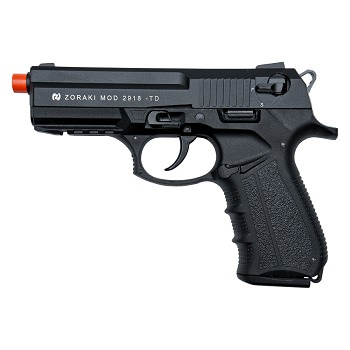 Zoraki Front Firing 2918 Black Finish 9mm Blank Gun Pistol