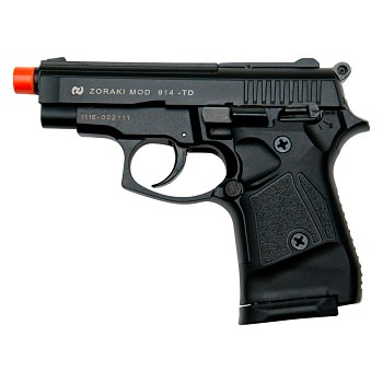 Zoraki Front Firing M914 Black Finish 9mm Blank Gun Pistol