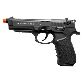 Zoraki Front Firing M918 Black Finish 9mm Blank Gun Pistol
