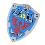 Link Triforce Zelda Foam Cosplay Shield