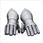 Medieval Knight Gothic Style Functional Armor Gauntlets