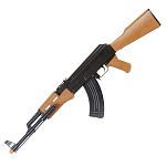 Spring AK47 Assault Rifle Airsoft gun - Laser & Light