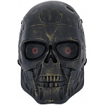 Terminator Full Face Airsoft Mesh Mask - Ancient Bronze
