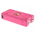 Pink Max Power 10 Million Volt Stun Gun Rechargeable LED Light Self Defense