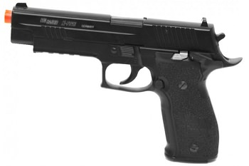 Full Metal Sig Sauer X-Five P226 CO2 Blowback Handgun 6MM Airsoft Pistol