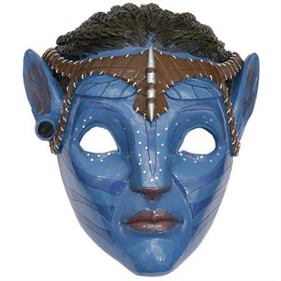 Pandora Blue Tribal Mask Neytiri