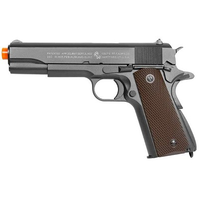 Full Metal Colt 1911 CO2 Blowback Airsoft Pistol