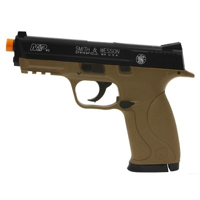 Smith & Wesson M&P40 HPA Ultra-Grade Heavyweight Tan Pistol