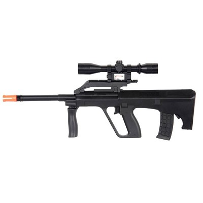 Spring Mini AUG M191 Rifle FPS-175 Airsoft Gun with Laser Sight