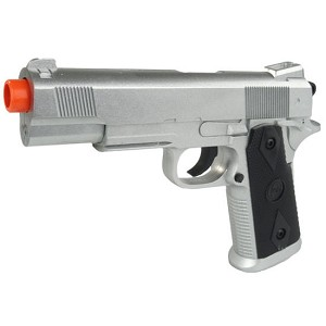 CYMA Spec Ops Full Metal Spring Airsoft Pistol - Silver