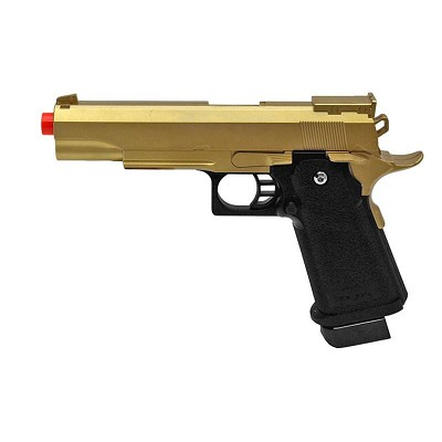 G6G Heavy Weight Metal Airsoft Hand Gun Pistol Gold Finish