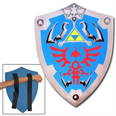 Link Triforce Zelda Foam Shield LARP