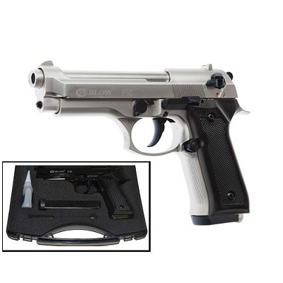 Blow V92F 9MM Blank Firing Replica Gun Satin Finish