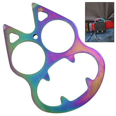 Personal Protection Feline Rainbow Fusion Knuckle