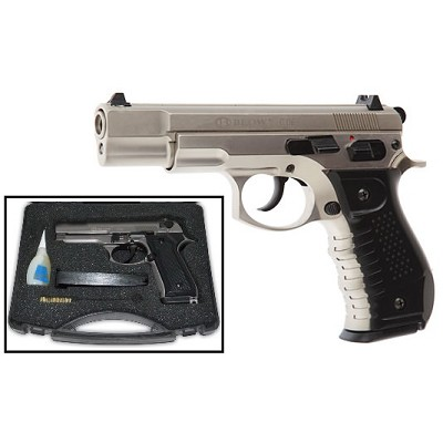 Blow C06 9MM Blank Firing Gun Satin Finish Starter Pistol