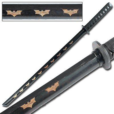 Dark Night Rises Bokken Black