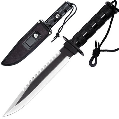 Survival Military Bowie Hunting Knife