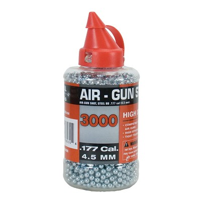 Soft Air Swiss Arms Steel BB's .33 gram 3,000 Count .177 Cal.