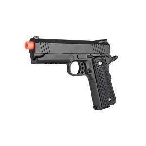 Full Metal 1911 Warrior Spring Airsoft P istol, Shoots 255 FPS