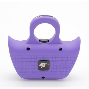 Mini Jogger Purple Sting Ring Self Defense Rechargeable Stun Gun