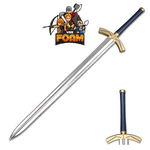 Fate Stay Night Saber Lily Avalon Foam Excalibur LARP Cosplay Costume Sword