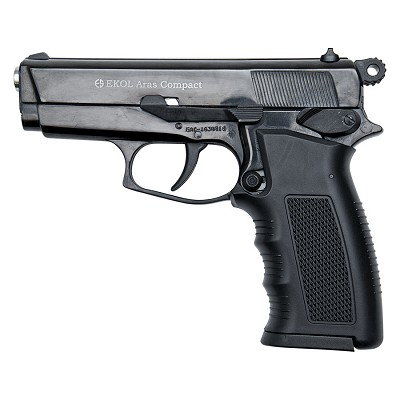 ARAS Compact HP Black - 9MM Blank Firing Replica Gun