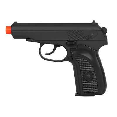 G29B Metal Spring Airsoft Pistol in Black Shoots 245 FPS