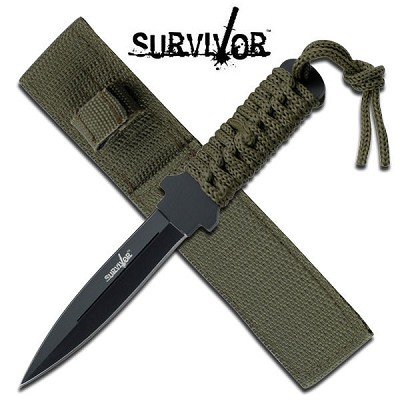 7 Inch Survivor Dagger Boot Knife Outdoor Fixed Blade