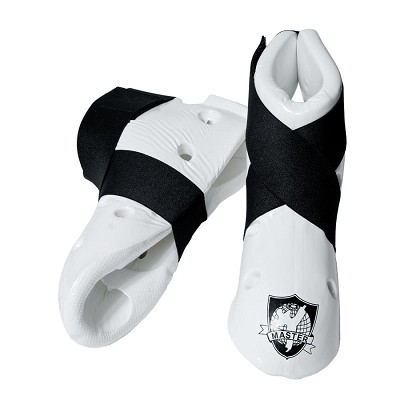 White Student Martial Arts Sparring Foot Gear Shoes Size X-Small