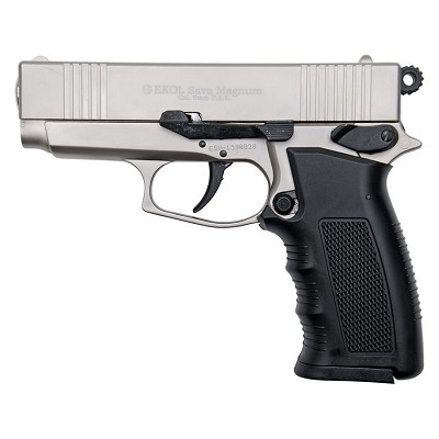 Sava Magnum Blank Firing Replica Pistol Satin Finish